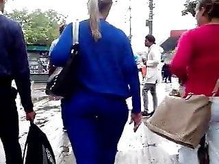 Huge ass on Rio de Janeiro!