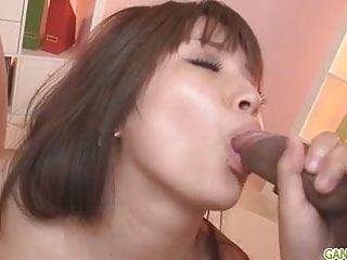 Hinata japanese girl blow job and creampie fucking