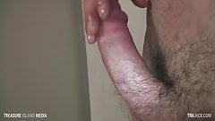 Stud Jacking his thick cock