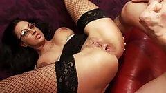 Pierced Cougar Pleasures Stiff Rod In Every Way
