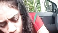 Indian Girl expert blow job bj in car .mp4