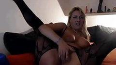 Blond German cam bitch