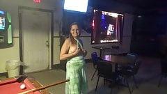 Dancing around the bar