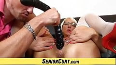 Hot milf pussy zoomed in feat. milf Marketa