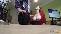 LOAN4K. Application for credit was declined so why redhead
