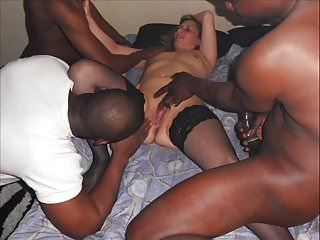 Movie Lisa's photo gangbang with 3 lovers blacks - Cuckold