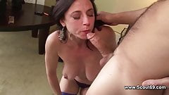 Mom get Anal fuck in her old ass and cum in Face's Thumb