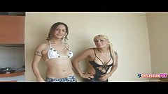 Angeles Cid and Nikki Monteroe in Shelesbian action