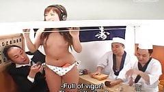 JAV reverse glory hole sushi restaurant game show Subtitles
