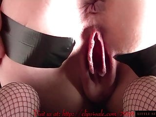 Wet Dripping Pussy Gaping Asshole Bound-Little Sunshine MILF