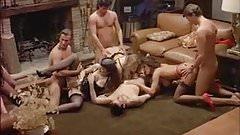 Orgy from Eccitazione fatale (1992) Angelica Bella