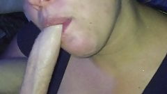 wife sucking 's Thumb