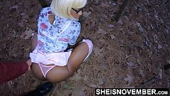 Have Foreplay With Ebony Step Daughter After Church Outside