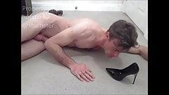 Kiss lick suck fuck cum shoe for MissBUnnyB Hotstar4u