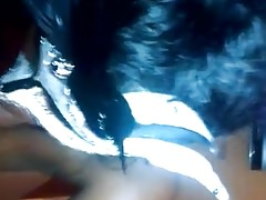 Black MILF giveing head