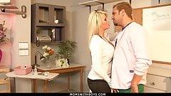 MILF Brooke Haven Flirts And Fucks The School Nurse