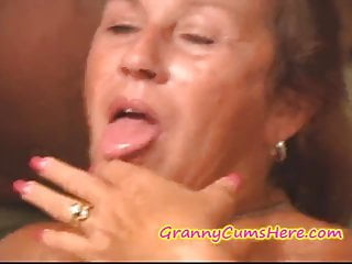 Preview 5 of Granny fucks the POOLBOYS and gets a CREAM PIE