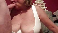 Big Tits Mature Has Face Stuff