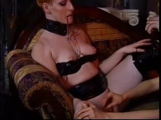 Lesbian stocking euro matures toy playing