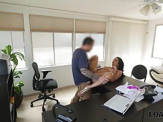LOAN4K. Brunette colleen needs cash to pay rent so why...