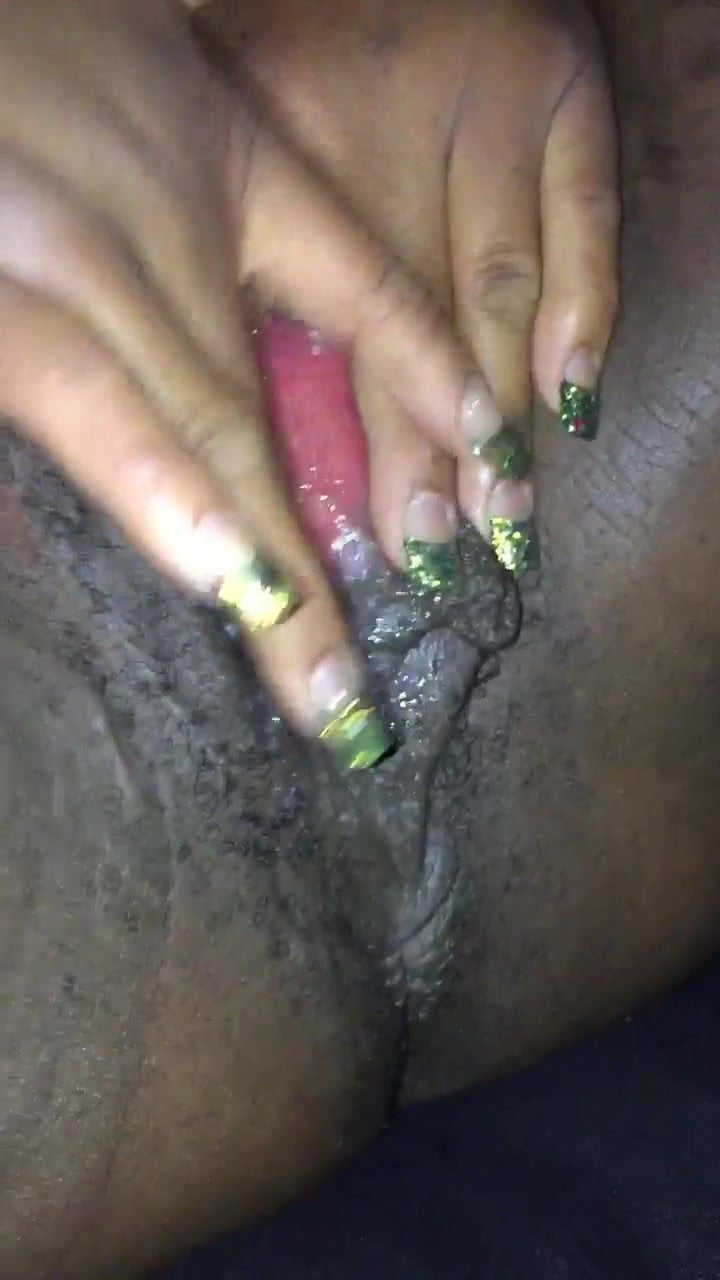 Thick Black Oily Cock vs Creamy Oily BBW loud pussy