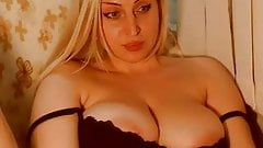 Hot blonde with big boobs and ass