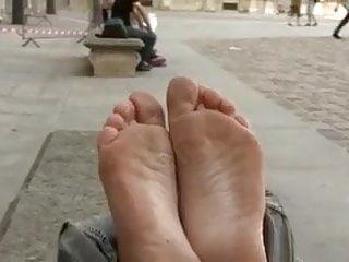 un beau jeu de pieds