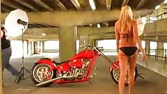 Motorcycle likes blond