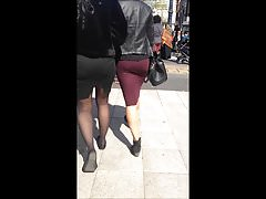 Bhambootyhunter two bootys in skirts for your pleasure Thumbnail
