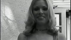 Blonde slut gangbanged!