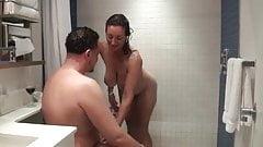 Persia seduces room service boy
