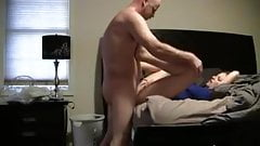 Hot wife blowjob and sex with cumshot