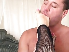 Mia Malkova Foot job on Danny Mountain