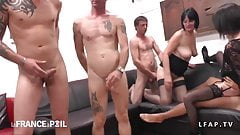 French swinger party