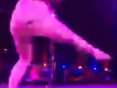 blonde pole dancin skills 1
