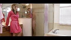 Shower Surprised
