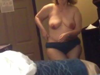 My British wife Sue 47 cums on my dick