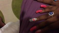 more sexy long pink nails fingernails toenails