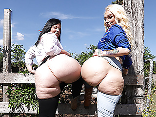 Cowgirls Virgo Peridot and Alexis Andrews Share The Priest's