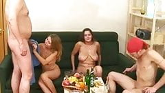 Russian group sex 4