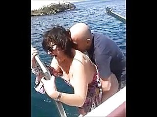Preview 6 of Hot MILF fuck on the boat
