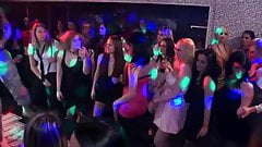 amateur teen group orgy in disco