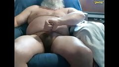 Straight bear dad cumshot