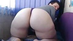 Sexy Big Ass Webcam Brunette PAWG Girl