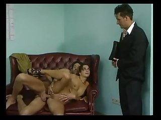 Maren Beautte - Double Penetration in the office