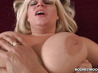 Think, blonde big tits pov