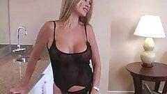 Hot Blonde Orders Room Service