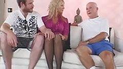 Blonde Amateur Swinger Gets Screwed