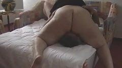 Big BBW facesit her dude part 3