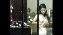 Asian Window Peek